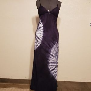 Twentyone Navy Tie Dye Dress